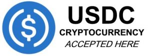 USDC Cryptocurrency accepted here